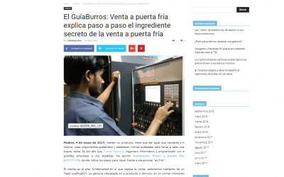 Tomás Santoro y su GuíaBurros: Venta a puerta fría, en Infodespachos